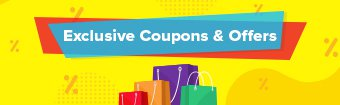 Exclusive Coupons and Offers